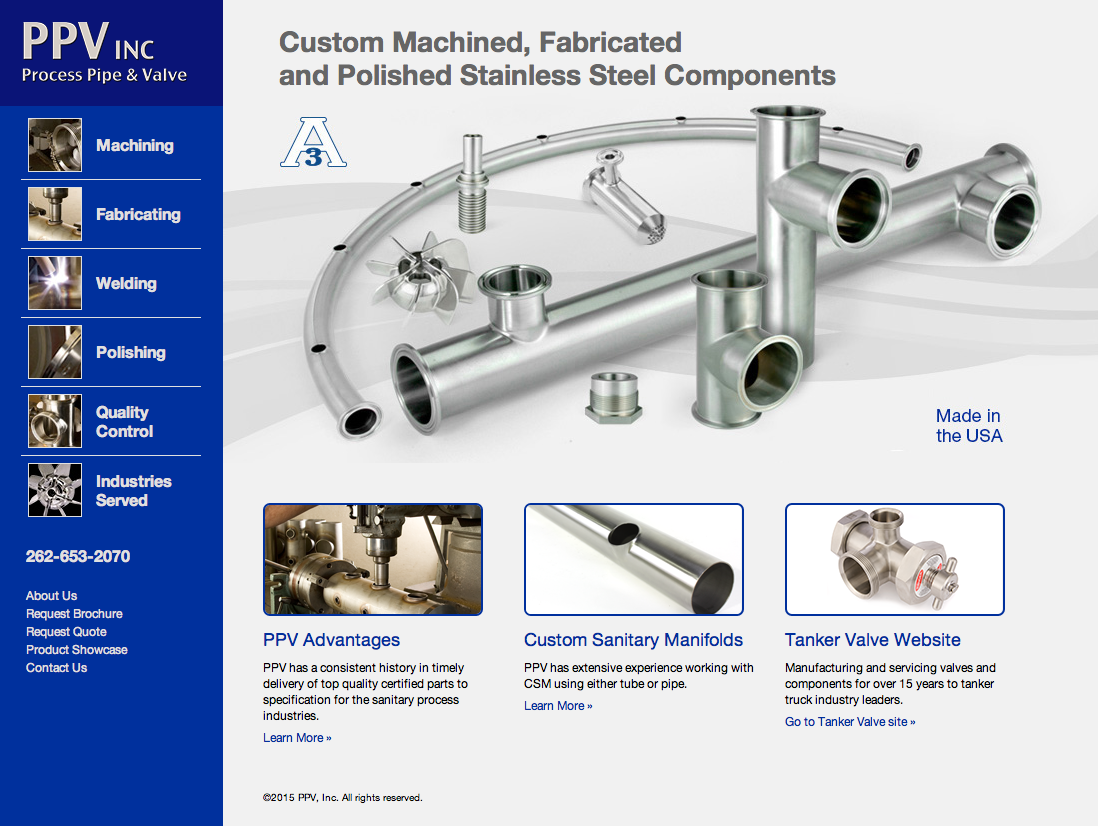 Process Pipe and Valve Website