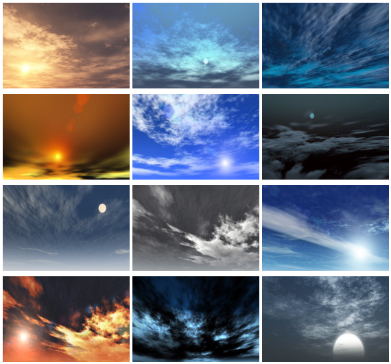 Nature Themed Video backgrounds