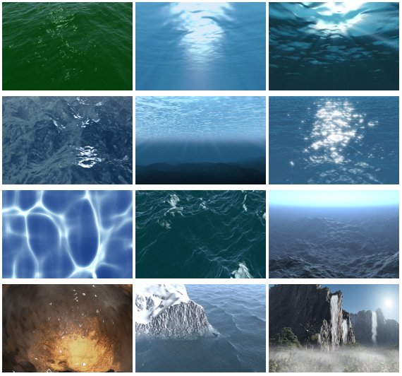 Nature Motion backgrounds