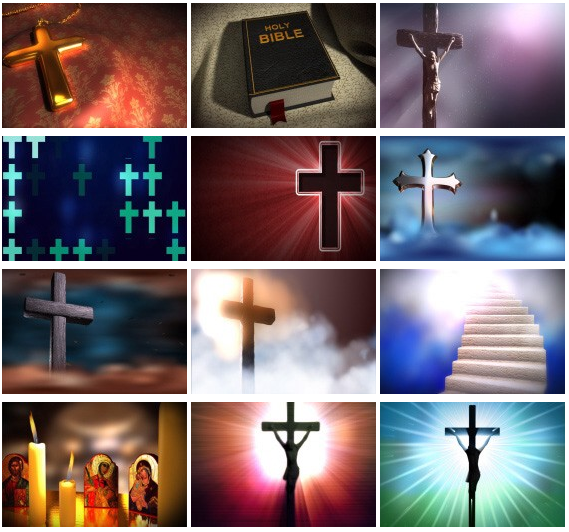 Christian Themed Video Backgrounds