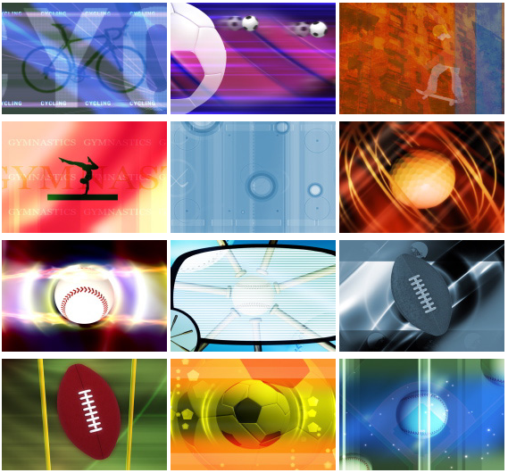 Sports Motion video backgrounds