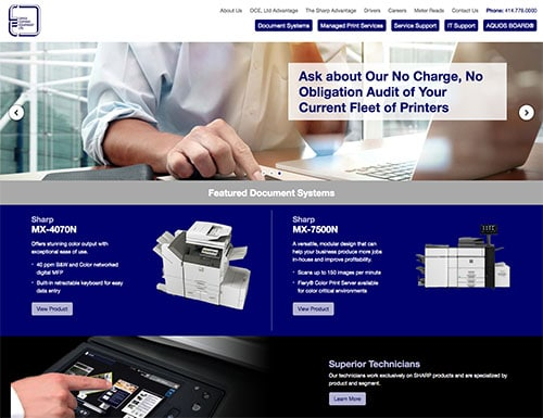 Office Copying Equipment Website